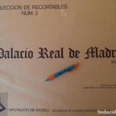 Coleccionismo Recortables: RECORTABLE PALACIO REAL DE MADRID PERFECTO ESTADO. Lote 124503379