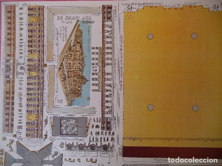 Coleccionismo Recortables: RECORTABLE PALACIO REAL DE MADRID PERFECTO ESTADO - Foto 4 - 124503379