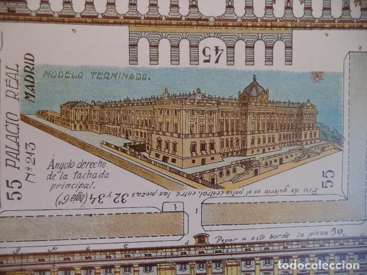 Coleccionismo Recortables: RECORTABLE PALACIO REAL DE MADRID PERFECTO ESTADO - Foto 5 - 124503379