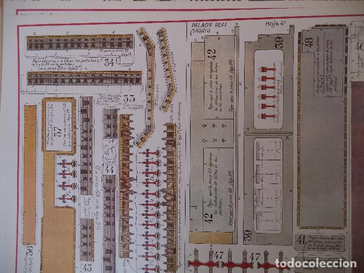 Coleccionismo Recortables: RECORTABLE PALACIO REAL DE MADRID PERFECTO ESTADO - Foto 6 - 124503379