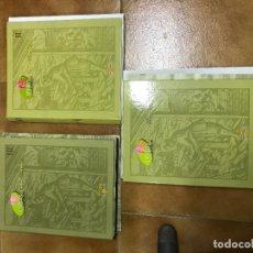 Coleccionismo Recortables: CONSTRUIR LA EDAD MEDIA 3 TOMOS, CON FASCÍCULOS SIN ENCUADERNAR EDICIONES EL PRADO . Lote 124519803
