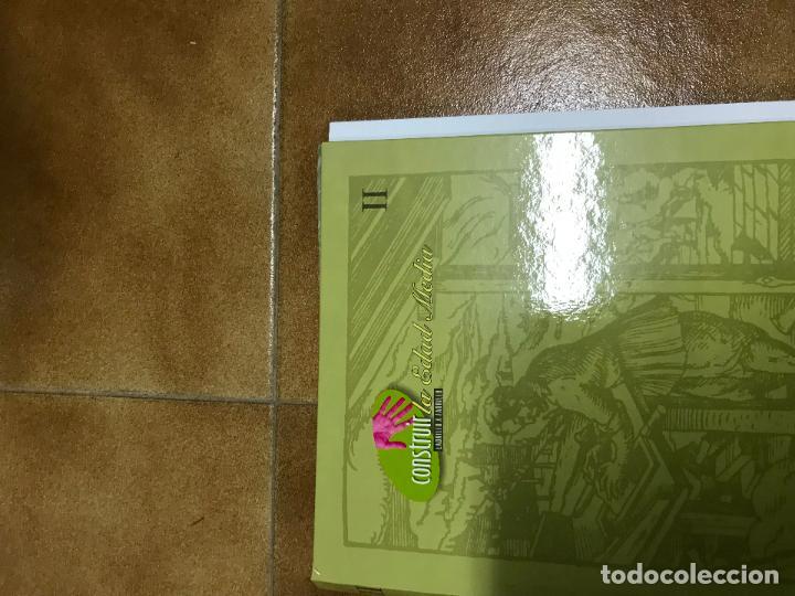 Coleccionismo Recortables: Construir la Edad Media 3 tomos, con fascículos sin encuadernar ediciones el prado - Foto 3 - 124519803