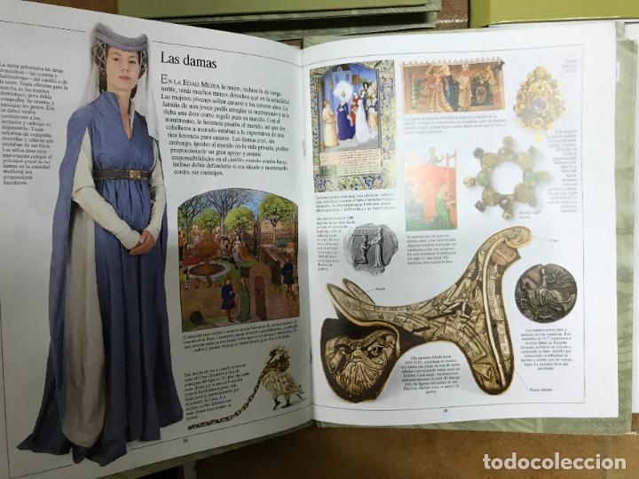 Coleccionismo Recortables: Construir la Edad Media 3 tomos, con fascículos sin encuadernar ediciones el prado - Foto 6 - 124519803
