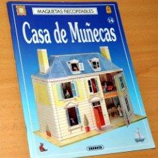 Coleccionismo Recortables: RECORTABLE DE CASA DE MUÑECAS - EDICIONES SUSAETA - NUEVO - AÑO 1993. Lote 124606287
