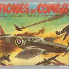 Coleccionismo Recortables: SOBRE SORPRESA. AVIONES DE COMBATE. Nº 3. INSTRUCCIONES DE MONTAJE EN EL INTERIOR(SIN ABRIR)(ST/B104. Lote 125192203