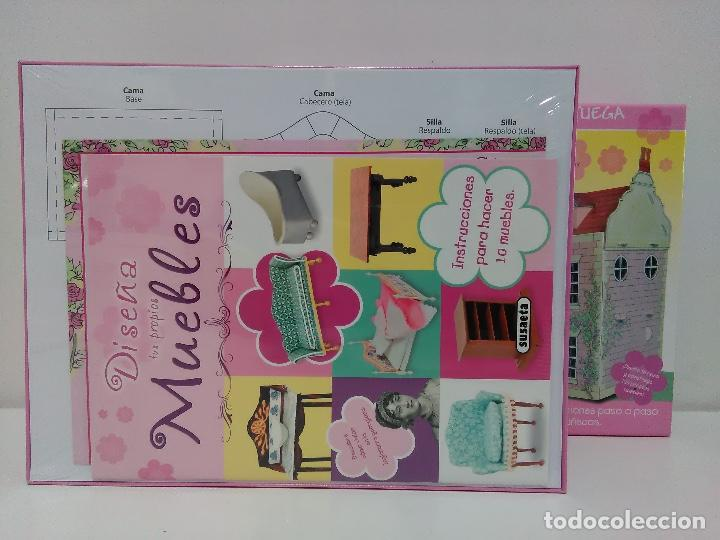 Coleccionismo Recortables: Maquetas recortables casa de muñecas Susaeta. Colorea y juega. - Foto 3 - 125314031