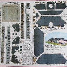 Coleccionismo Recortables: RECORTABLE PALACIO REAL DE MADRID. DIPUTACIÓN PROVINCIAL MADRID.. Lote 125348131