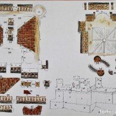 Coleccionismo Recortables: RECORTABLE CASTILLO DE MANZANARES EL REAL (MADRID). DIPUTACIÓN PROVINCIAL MADRID.. Lote 125348451