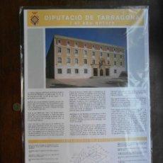 Coleccionismo Recortables: RETALLABLE DE LA DIPUTACIO DE TARRAGONA I EL SEU ENTORN. RECORTABLE, MAQUETA. Lote 126658967