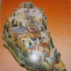 Coleccionismo Recortables: LA ALHAMBRA RECORTABLE GRANADA ANDALUCIA MONUMENTO ANDALUZ PATRIMONIO DE LA HUMANIDAD ARTE 1989. Lote 162133109