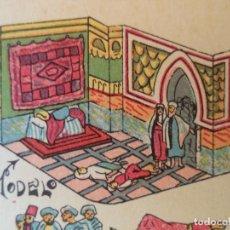 Coleccionismo Recortables: HERNANDO.CUENTOS DE LAS MIL Y UNA NOCHE LOS FAVORITOS DEL SULTAN SE FINGEN MUERTOS EN EL PALACIONº93. Lote 130399462