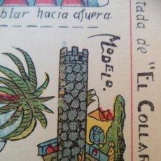 Coleccionismo Recortables: HERNANDO CUENTOS DE LAS MIL Y UNA NOCHE.LA TORRE ENCANTADA DE EL COLLAR DE DIAMANTES Nº962. Lote 130400094