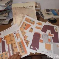 Coleccionismo Recortables: EXCELENTE RECORTABLE DEL CONSOLAT DE MAR,SEU DE LA PRESIDÈNCIA DE LES ILLES BALEARS. 2009.. Lote 132123806
