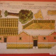 Coleccionismo Recortables: 'CASA ROMANA'. RECORTABLE CONSTRUCCIÓN. EDICIONES 'LA TIJERA' SERIE 5 NÚMERO 28. Lote 132175686