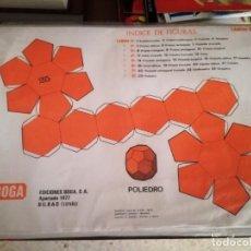Coleccionismo Recortables: GEOMETRIA PRACTICA. EDICIONES BOGA 1970.. Lote 132931186