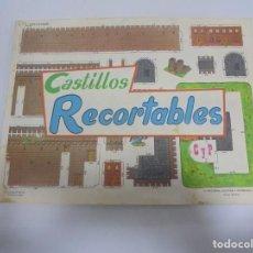 Coleccionismo Recortables: CASTILLOS RECORTABLES. 50 LAMINAS. EDITORIAL CULTURA Y PROGRESO, BILBAO. 1971. Lote 134265886