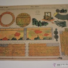 Coleccionismo Recortables: RECORTABLE POZO RÚSTICO EDICIONES LA TIJERA. Lote 134394514