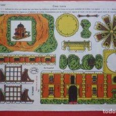 Coleccionismo Recortables: 'CASA TURCA'. EDICIONES LA TIJERA SERIE 10 Nº 202. TAMAÑO 22,5X32,5 CM. Lote 135244426