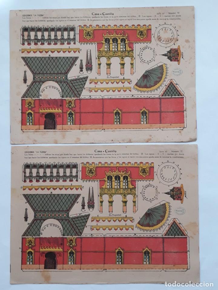 Coleccionismo Recortables: LOTE 14 RECORTABLES EDICIONES LA TIJERA . AÑOS 20 - Foto 2 - 139595202