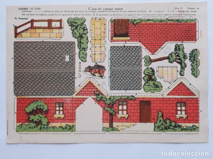 Coleccionismo Recortables: LOTE 14 RECORTABLES EDICIONES LA TIJERA . AÑOS 20 - Foto 7 - 139595202