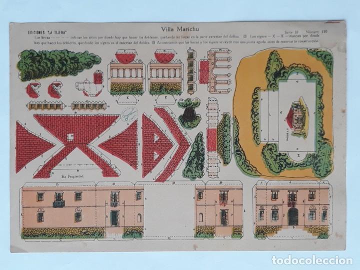Coleccionismo Recortables: LOTE 14 RECORTABLES EDICIONES LA TIJERA . AÑOS 20 - Foto 10 - 139595202
