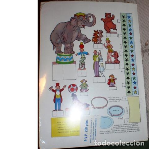 Coleccionismo Recortables: Recortable MONTA TU CIRCO. Casquel Ediciones - Foto 2 - 146055774