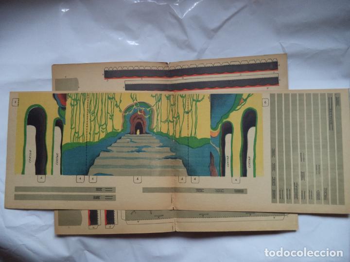 Coleccionismo Recortables: LA TIJERA TEATRO PARA NIÑOS CON PERSONAJES DECORACION Y UNA OBRA PARA REPRESENTAR COMPLETO - Foto 4 - 138758802