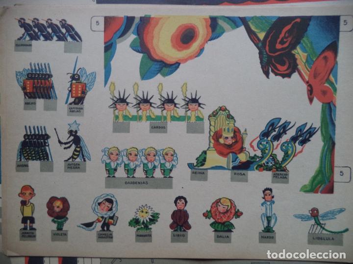 Coleccionismo Recortables: LA TIJERA TEATRO PARA NIÑOS CON PERSONAJES DECORACION Y UNA OBRA PARA REPRESENTAR COMPLETO - Foto 9 - 138758802