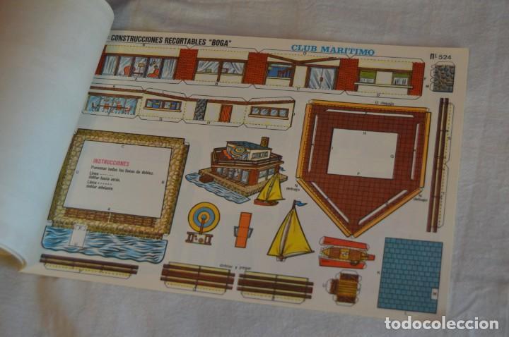 Coleccionismo Recortables: Vintage - LIBRITO CON 10 LÁMINAS DE CONSTRUCCIONES RECORTABLES BOGA - 10 CONSECUTIVAS - ENVÍO 24H - Foto 8 - 139205598