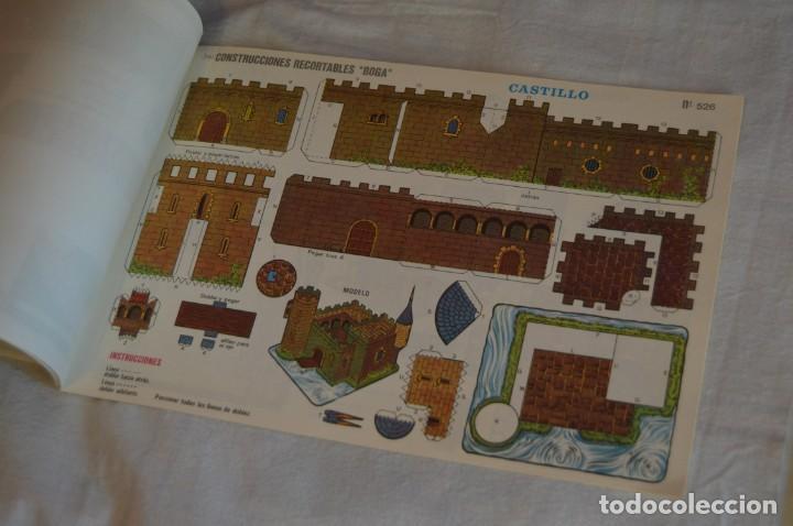 Coleccionismo Recortables: Vintage - LIBRITO CON 10 LÁMINAS DE CONSTRUCCIONES RECORTABLES BOGA - 10 CONSECUTIVAS - ENVÍO 24H - Foto 10 - 139205598