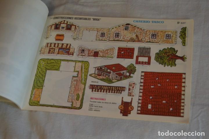 Coleccionismo Recortables: Vintage - LIBRITO CON 10 LÁMINAS DE CONSTRUCCIONES RECORTABLES BOGA - 10 CONSECUTIVAS - ENVÍO 24H - Foto 11 - 139205598