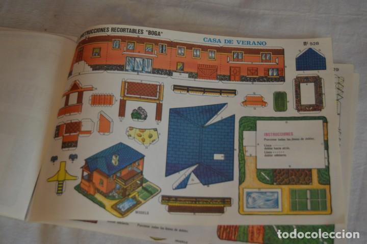 Coleccionismo Recortables: Vintage - LIBRITO CON 10 LÁMINAS DE CONSTRUCCIONES RECORTABLES BOGA - 10 CONSECUTIVAS - ENVÍO 24H - Foto 12 - 139205598