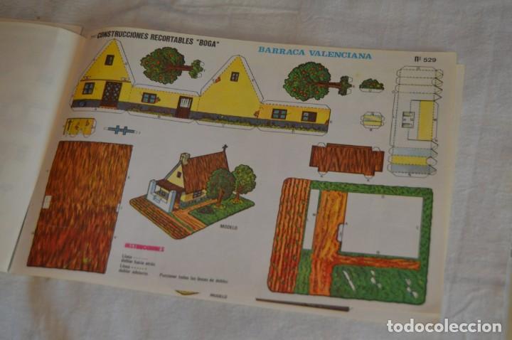 Coleccionismo Recortables: Vintage - LIBRITO CON 10 LÁMINAS DE CONSTRUCCIONES RECORTABLES BOGA - 10 CONSECUTIVAS - ENVÍO 24H - Foto 13 - 139205598