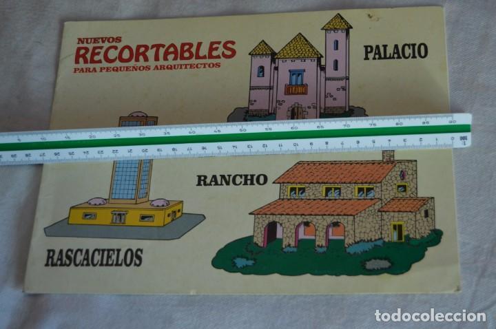 Coleccionismo Recortables: Vintage - LIBRITO RECORTABLES DE CONSTRUCCIÓN - RASCACIELOS, RANCH Y PALACIO - VILMAR - ¡Mira! - Foto 2 - 139206118
