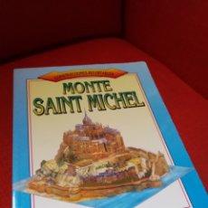 Coleccionismo Recortables: MONTE SAINT MICHEL . CONSTRUCCIONES RECORTABLES.SUSAETA.DIFICIL. Lote 139441394