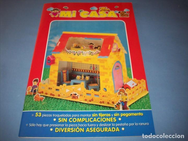 COLECCION MONTO Y JUEGO DE GRAFALCO , MI CASA (Coleccionismo - Recortables - Construcciones)