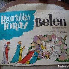 Coleccionismo Recortables: RECORTABLE TORAY . BELEN.. Lote 143213846