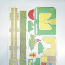Coleccionismo Recortables: LAMINA RECORTABLE DE CASTILLO. TDKR33. Lote 145044598