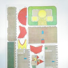 Coleccionismo Recortables: LAMINA RECORTABLE DE CASTILLO. TDKR33. Lote 145044702