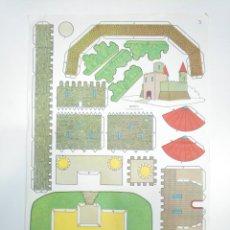 Coleccionismo Recortables: LAMINA RECORTABLE DE CASTILLO. TDKR33. Lote 145044758