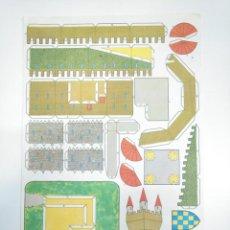 Coleccionismo Recortables: LAMINA RECORTABLE DE CASTILLO. TDKR33. Lote 145044774