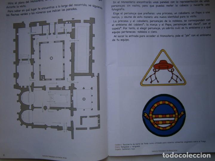 Coleccionismo Recortables: MONASTERIO DE SAN ISIDRO DEL CAMPO CUADERNO DEL ALUMNADO PRIMARIA 2005 - Foto 10 - 146240930