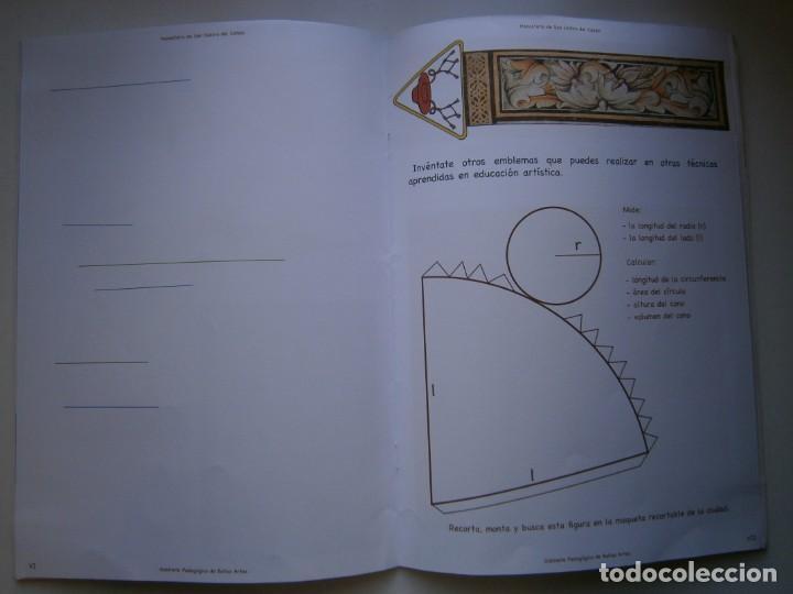 Coleccionismo Recortables: MONASTERIO DE SAN ISIDRO DEL CAMPO CUADERNO DEL ALUMNADO PRIMARIA 2005 - Foto 13 - 146240930