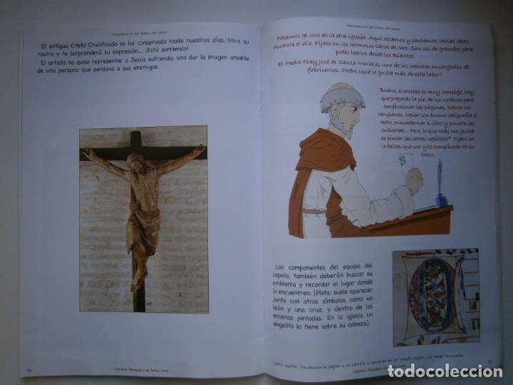 Coleccionismo Recortables: MONASTERIO DE SAN ISIDRO DEL CAMPO CUADERNO DEL ALUMNADO PRIMARIA 2005 - Foto 14 - 146240930