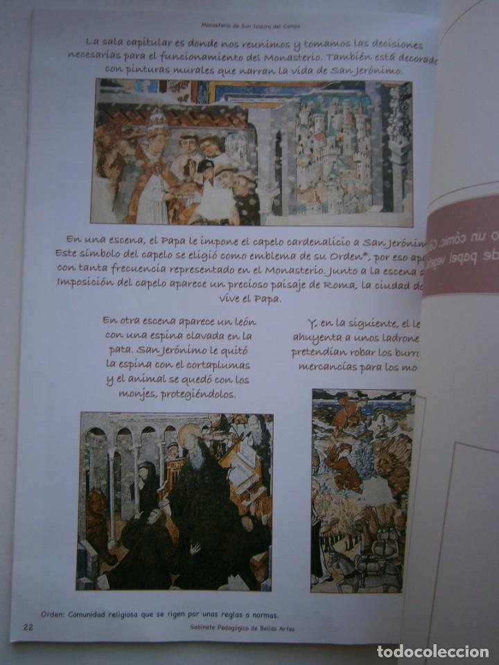 Coleccionismo Recortables: MONASTERIO DE SAN ISIDRO DEL CAMPO CUADERNO DEL ALUMNADO PRIMARIA 2005 - Foto 17 - 146240930