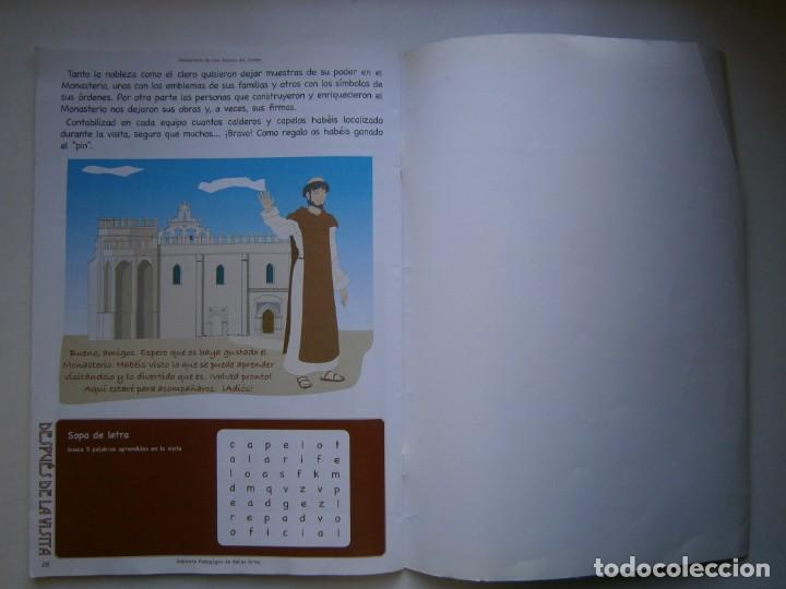 Coleccionismo Recortables: MONASTERIO DE SAN ISIDRO DEL CAMPO CUADERNO DEL ALUMNADO PRIMARIA 2005 - Foto 19 - 146240930