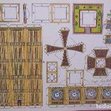 Coleccionismo Recortables: RECORTABLE - TORRE DE LONDRES - 38 X 25 CM. Lote 146321426