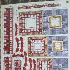 Coleccionismo Recortables: RECORTABLE - TEMPLO JAPONÉS - 38 X 25 CM. Lote 146321466