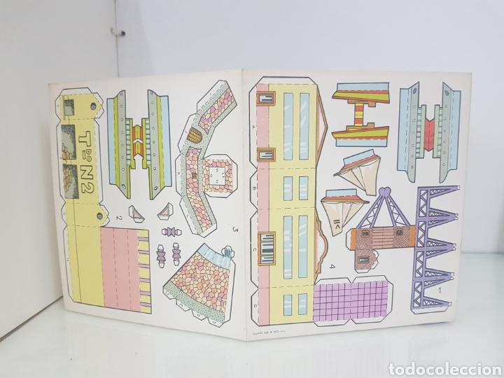 Coleccionismo Recortables: Recorte juguete el consultor número 4 puerto editorial Roma Barcelona medida libro 18 x 20 cm - Foto 2 - 147169913