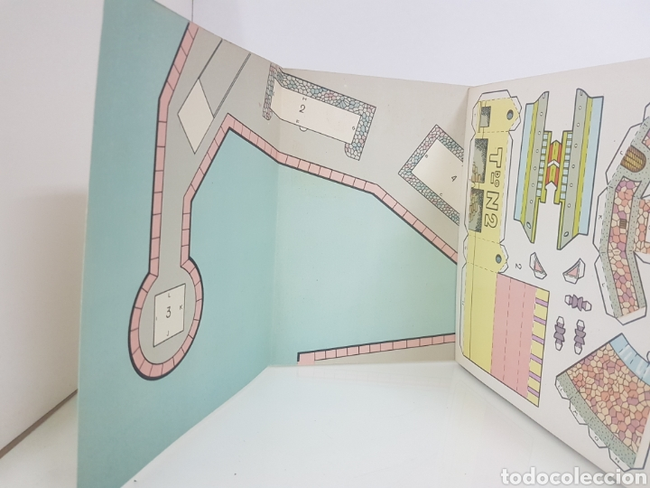 Coleccionismo Recortables: Recorte juguete el consultor número 4 puerto editorial Roma Barcelona medida libro 18 x 20 cm - Foto 3 - 147169913